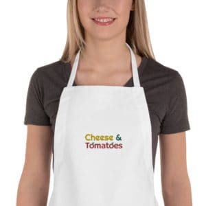 Cheese and Tomatoes Pizza Apron