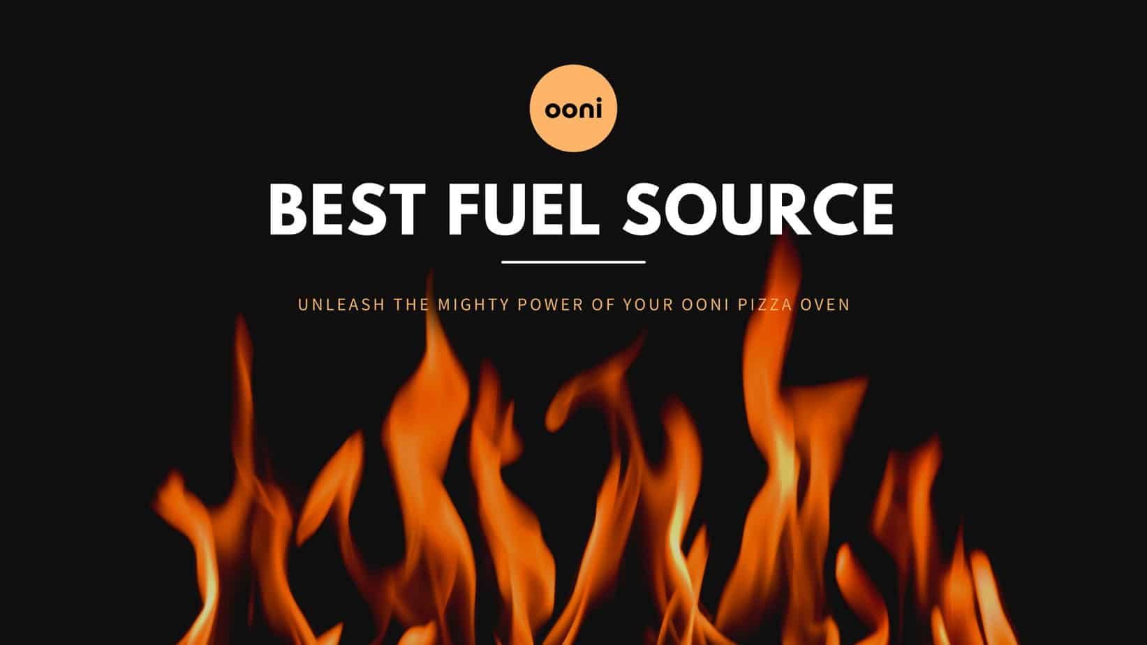 Best Fuel Source for Ooni Pizza Oven