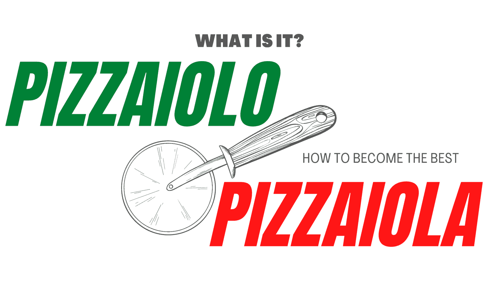 what is a pizzaiolo